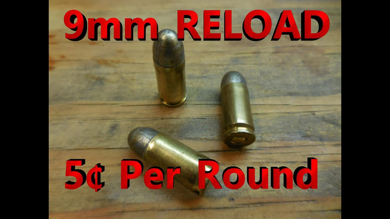 Reload 9mm for 5 Cents Per Round – Professional Prepper